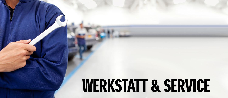 Werkstatt & Service im Autohaus Strobel